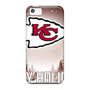 Ksander UCE1069vFeu Case Cover Iphone 5c Protective Case Kansas City Chiefs