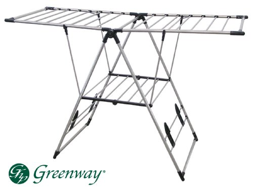 Greenway GFR0501SS Extra Large Fold Away Laundry Rack