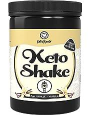 KetoMeals Keto Shake Vanilla (30 portioner) Skaka för Keto Diet & Low Carb Diet | Slimming & Fitness Shake, 450 g pulver