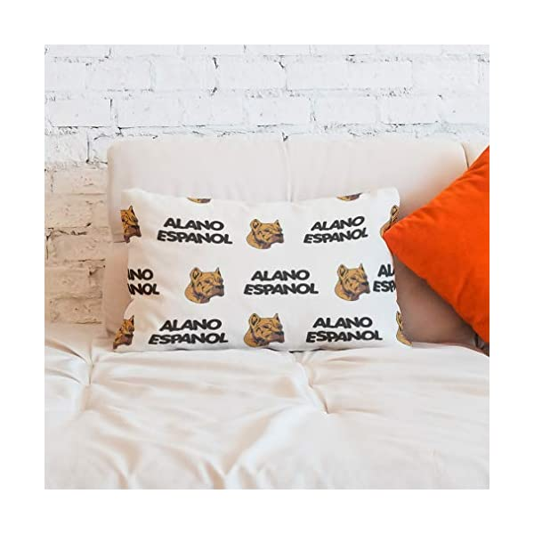 Personalized Pillow Case Alano Espanol Dog Breed Style A Polyester Pillow Cover 20INx28IN Design Only Set of 2 6