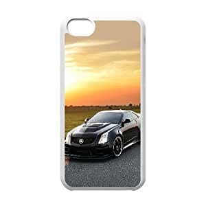 Cadillac iPhone 5c Cell Phone Case-White NRI5090604