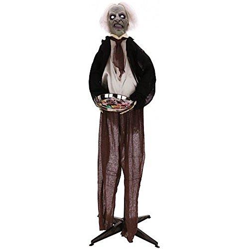 Halloween Animated Butler 5 Ft 66-51166 Mark Roberts]()