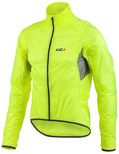Louis Garneau Men's X-Lite Bike Jacket, Bright Yellow, Small