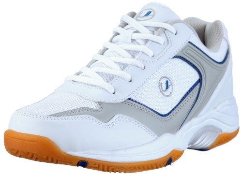 Ultrasport Sport Indoor Schuh, Zapatillas de Deporte para Unisex adulto Blanco/Azul