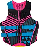 Body Glove 18224W-AQUPNK-L Women's Phantom L-Aqupnk Women's Phantom Uscga Llife Vest, Large, Aqua/Pink