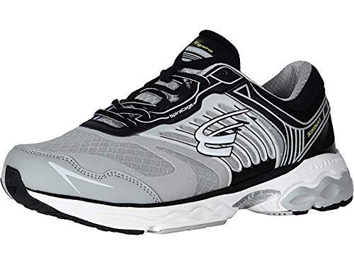 Spira Scorpius Ii Men's Stability Running Shoe Gray/Black/White - 9 Medium