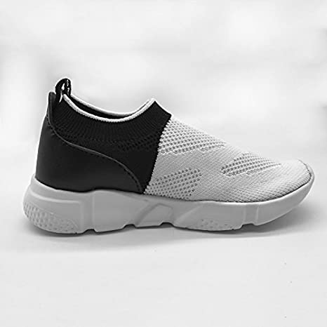 Panda Funny New Slim Fit Flywire Weaving 3D Printing Sneaker For Boys Girls
