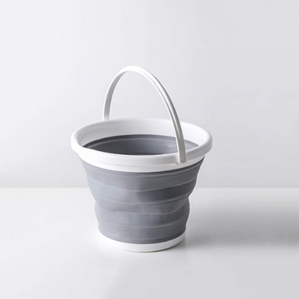 FNCUR High-end Travel Bucket PP + TPR Material Thickened Compressed Water Basin Foldable Portable Wash Basin Baby Washbasin Washtub Home Use by FNCUR