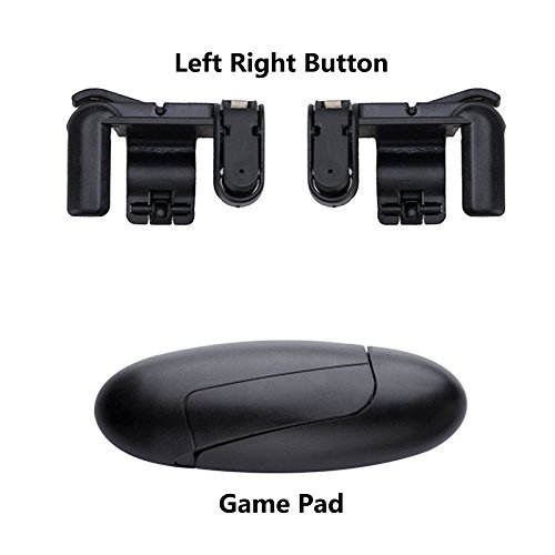 Mando del botón (handle grip) de 1 pares + Asa de juego para teléfonos móviles Controlador de tiradores
