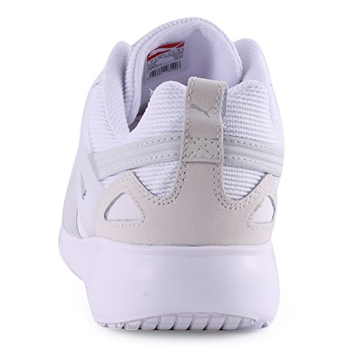 Puma Mixte Blanc Basses Sneakers Adulte Arial 6qqxwaFR