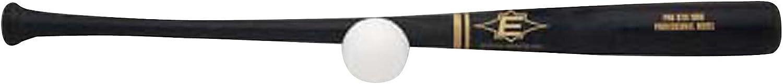 EASTON PRO STIX Plastic Baseball Bat & Ball Set | Professional Wood Bat Design | Plastic Ball | Fun For All Ages | 2020