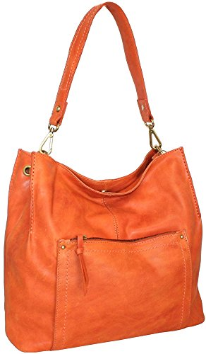 Nino Bossi Naked Galaxy Sara Smile Hobo Bag Orange