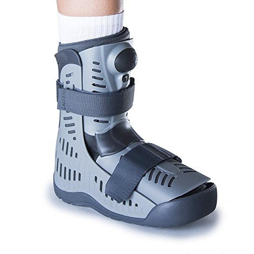 Ossur Rebound Air Walker Boot Low Top - Medium - with Compression Adjustable Comfortable Straps and Air Pump Rocker Bottom Ventilated Panels for Ankle Sprains Fractures Tendon Ligament Post-Op Rehab by Ossur (Image #4)