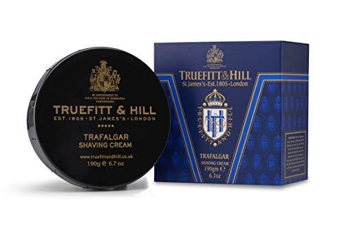 Hill Trafalgar Shaving Cream - Truefitt & Hill Shaving Cream Bowl- Trafalgar (6.7 ounces)