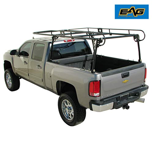 (E-Autogrilles EAG 800 lbs Regular Contractors Rack Truck Ladder Racks)