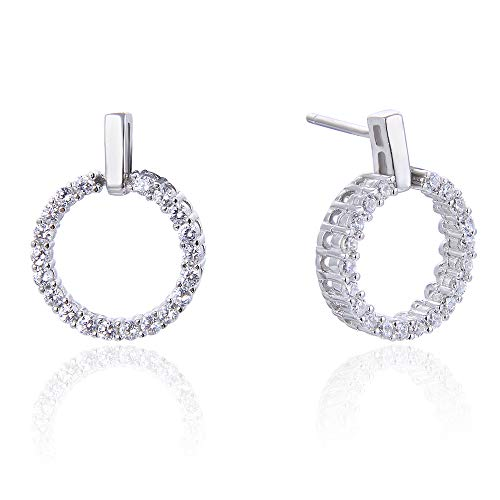 925 Sterling Silver Diamond...
