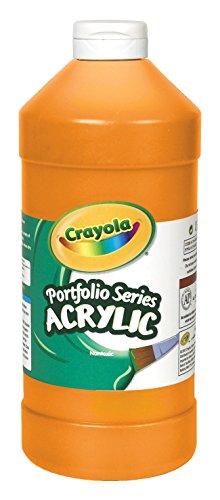 Crayola Portfolio Series Acrylic Paint, Brilliant Orange