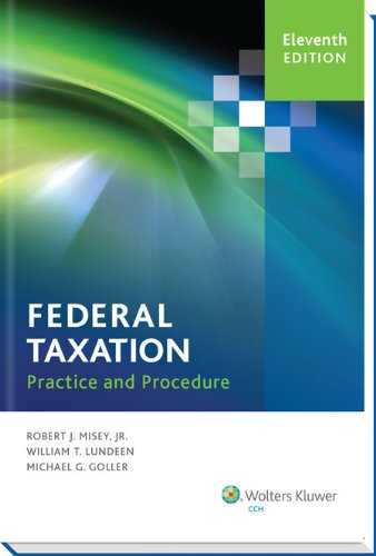 Federal Taxation Practice and Procedure (11th Edition) -  Paperback