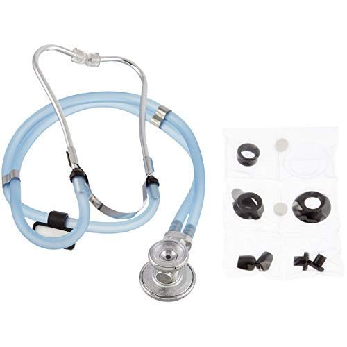 Labtron Gel Series Sprague Rappaport Stethoscope, Slate Blue, 602SL-GEL