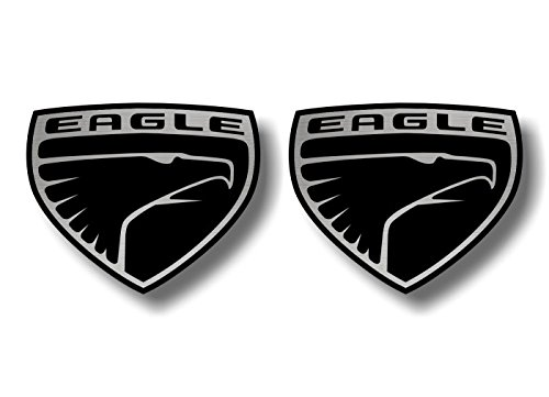 - 2 AMC Eagle Emblem 4.5