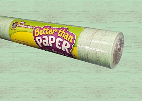 Mint Painted Wood Better Than Paper Bulletin Board Roll -