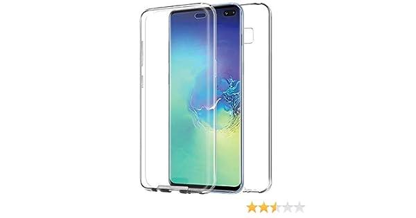 MB Accesorios Samsung Galaxy S10 Plus Funda de Silicona Delantera ...