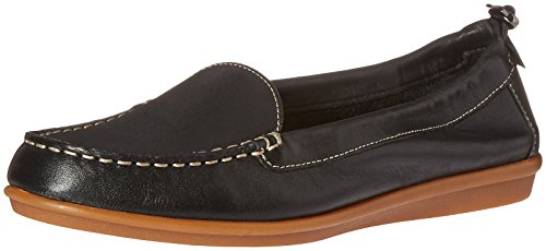 Leather Puppies Black Endless Women's Hush Flat Wink 6qSzwz