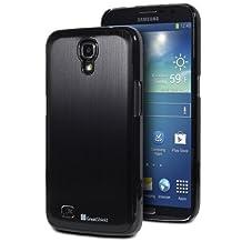 GreatShield TERRA Series Brushed Metal + PC Cover Case Skin for Samsung Galaxy Mega 6.3 GT-I9200 (Black/Black)