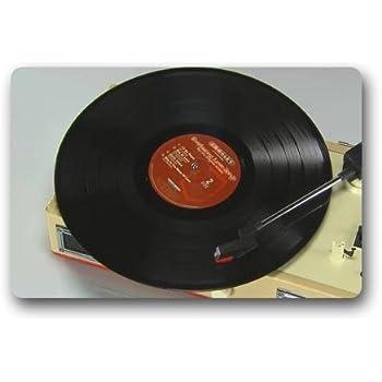 Amazon.com: Custom Vinyl Record Decorative Doormat Decor