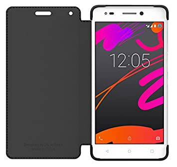 bq Duo - Funda para bq Aquaris M5.5, color negro