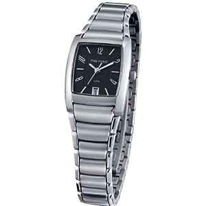 Reloj TIME FORCE de caballero. Acero Cromado Cadena. Calendario. TF-3100M01M