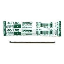 Zebra Sharbo X Gel Ink Multi Pen Refill Component - D1 - 1.0 mm - Green