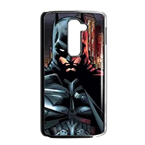 Batman in Gotham City LG G2 Cell Phone Case Black Exquisite gift (SA_661716)