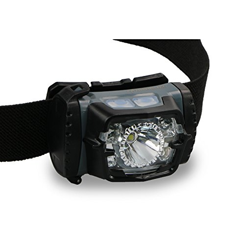 HEIMDALL Headlamp Flashlight with Red Light for Running, Hiking, Camping & DIY Chores. Head Flashlight IPX6 Water Resistant, 220 lumen, 6 Light Modes, 3xAAA Battery(included) Long Last