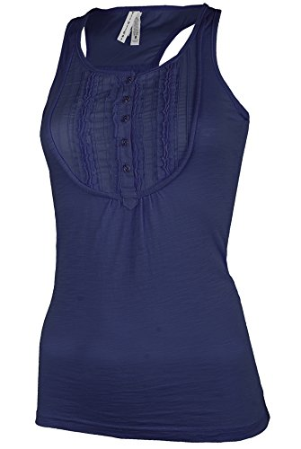 Pleated Button Front Placket - 1