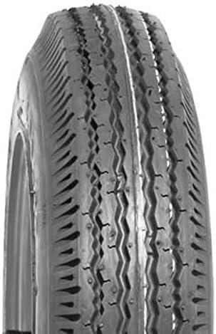 Deli Pneu de remorque renforc/é 4.50-10 Tire 6 PR S252 TL Charge Max 400 kg
