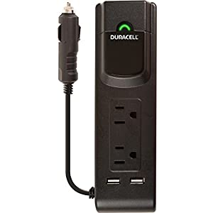 Duracell DRINVPS175 Power Inverter USB ports, 175W