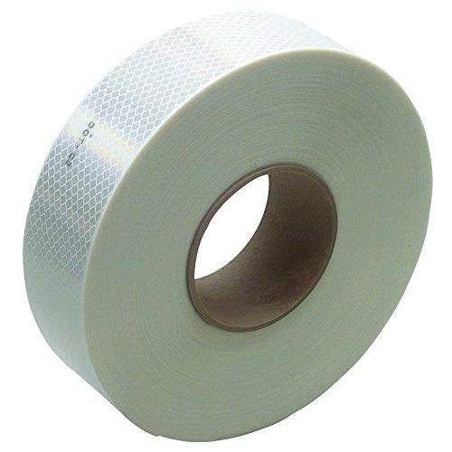 "3M T967983W Reflective Tape, 2"" x 150' White"