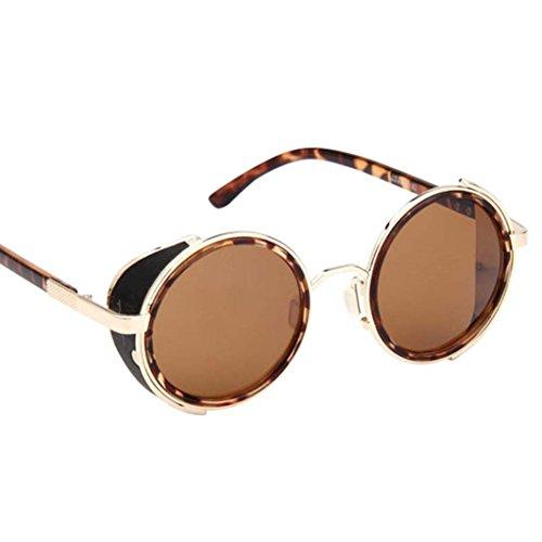 de Retro moda sol Winwintom moda gafas viajes Color Vintage lente B gafas hombres de mujeres aviador espejo Iq77OTXxw