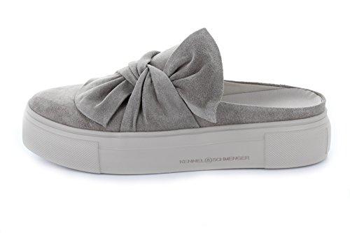 Kennel E Schmenger Schumanufaktur Signore Mule-sneaker Grande 71-21100-362 Suola Nodo Applicazione Pelle (pelle Scamosciata) Taupe