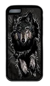 TYHde iPhone 6 4.7 Case,Breakthrough Wolf TPU Silicone Rubber Case Cover for iPhone 6 4.7 Black ending