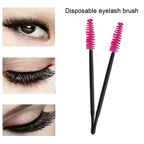150pcs Disposable Makeup Brushes Tool Kit Eyelash Brushes & Eyeliner Brushes & Lipstick Applicators