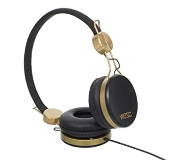 WESC Cascos Banjo - negro dorado