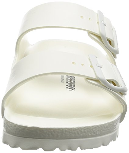 Birkenstock Classic ARIZONA     EVA - zuecos de goma unisex blanco - Weiß (WHITE)