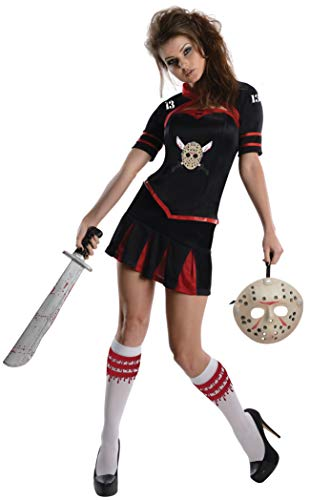 Jason Voorhees Womens Costume - Secret Wishes Women's Friday The 13th