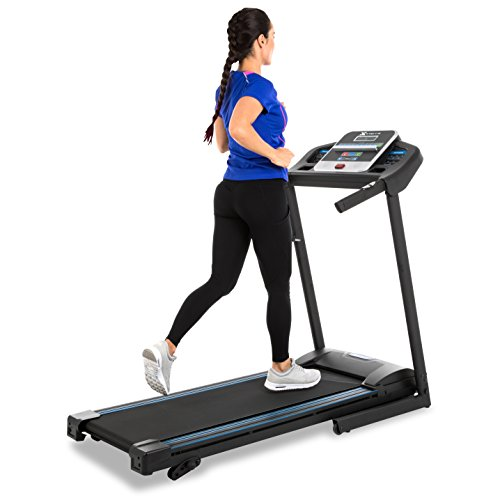 (XTERRA Fitness TR150 Folding Treadmill Black)