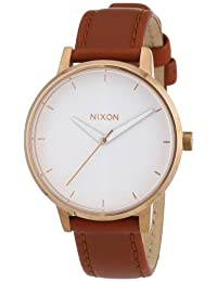 Nixon Women's Kensington A1081045 Brown Leather Quartz Watch