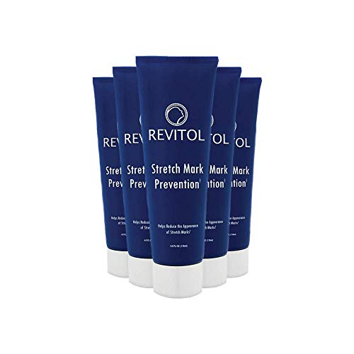 Revitol Stretch Mark Treatment Lotion, Safe Cure for Stretch Marks - 5 Pack