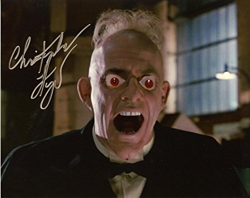 Christopher Lloyd WHO FRAMED ROGER RABBIT In Person Autographed ...
