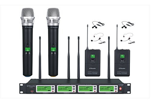GTD Audio G-787HL UHF Diversity Wireless Microphone Lapel Lavaliere Mic